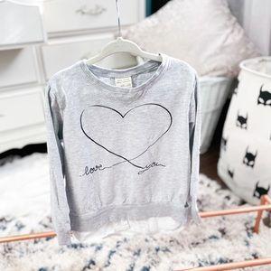4/5Y Zara School Girls Long Sleeve